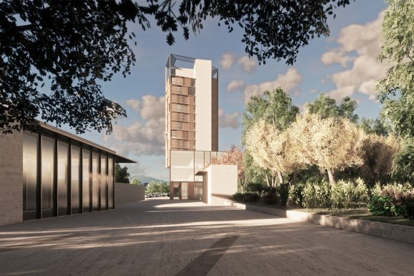 Torre Residenziale - ARCHITETTURA ed INTORNI