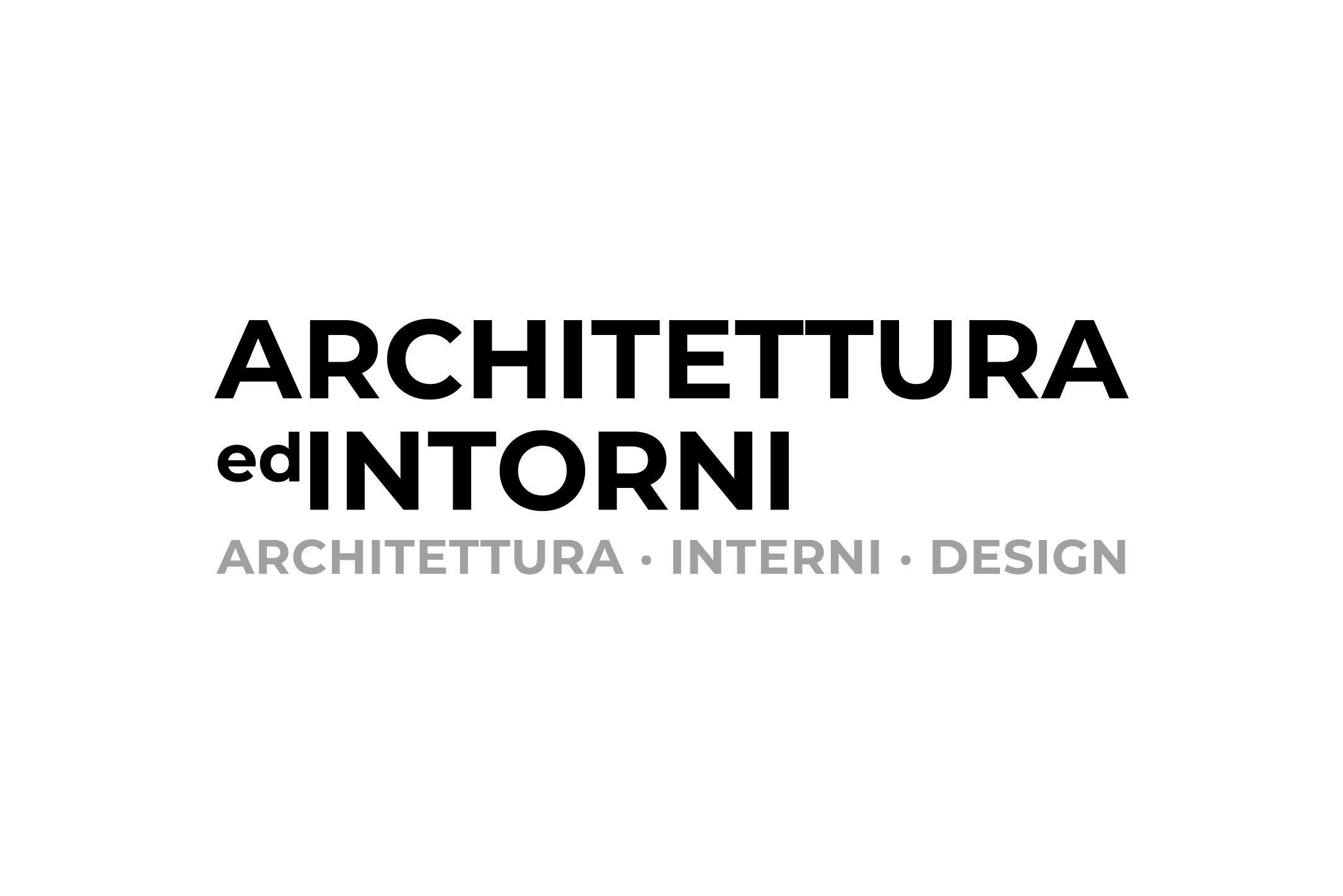 ARCHITETTURA ed INTORNI – New brand identity