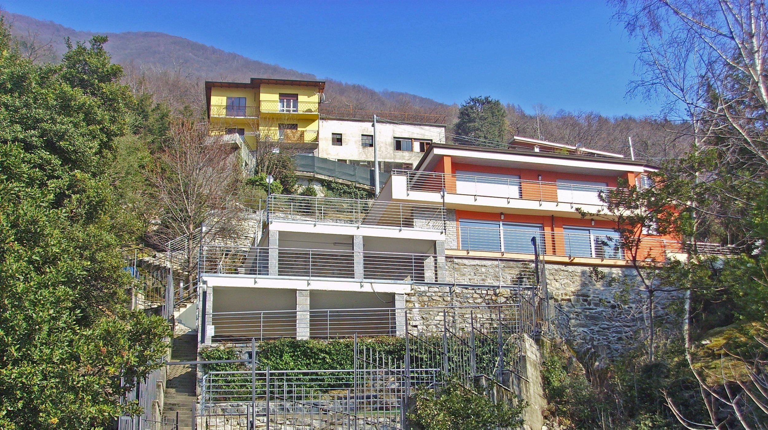 Villa Nesso - ARCHITETTURA ed INTORNI