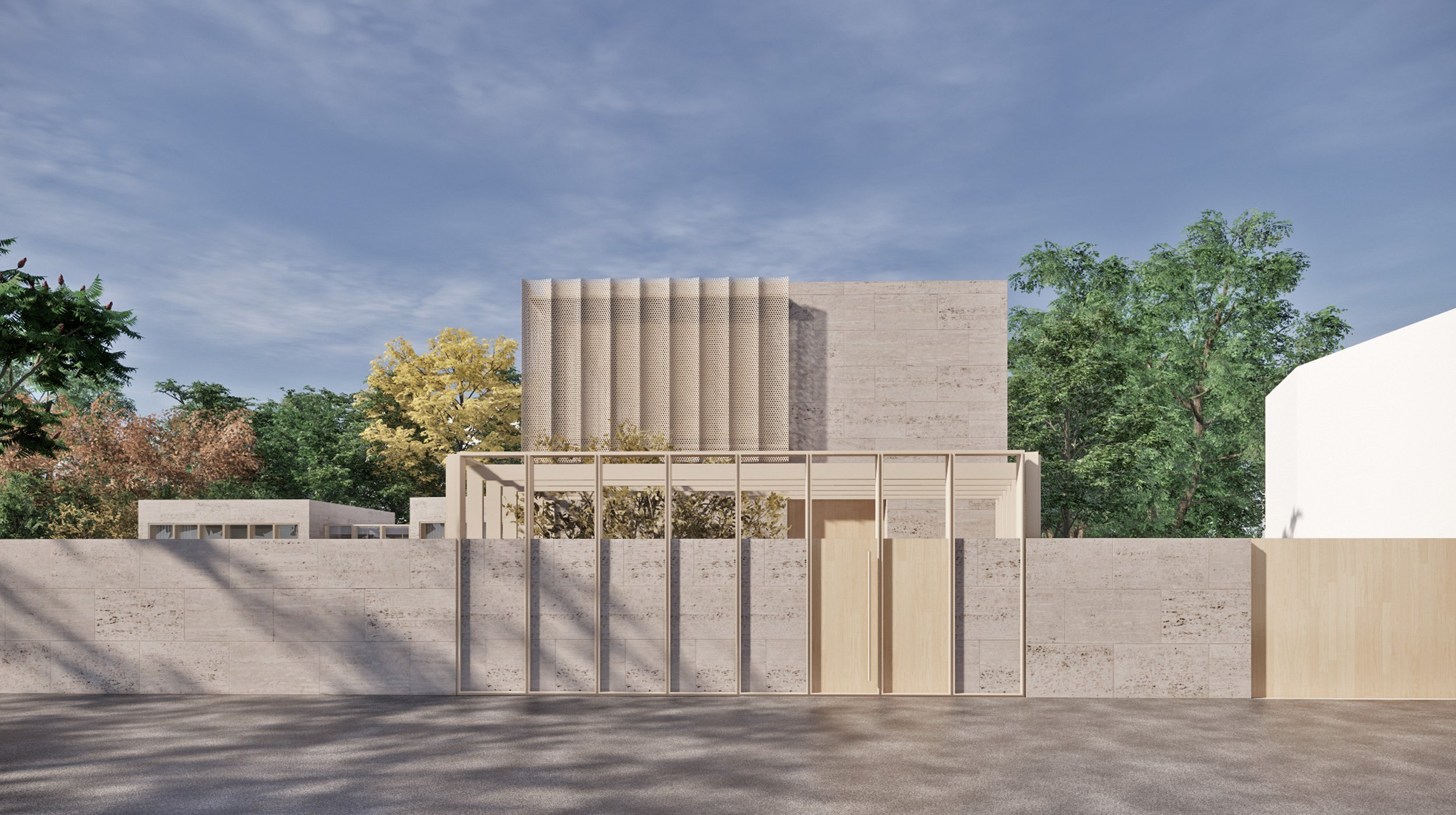 New project – villa Adige