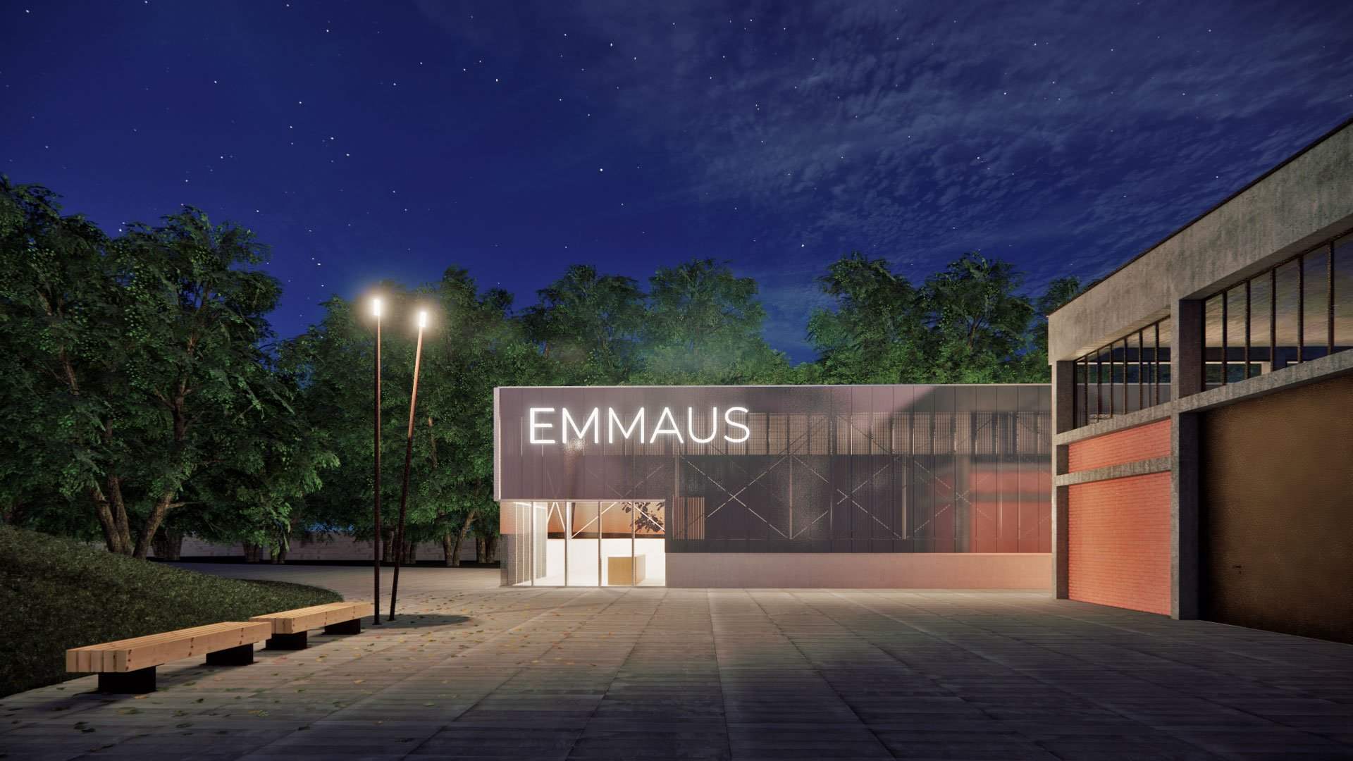 Expansion of Emmaus center in Erba