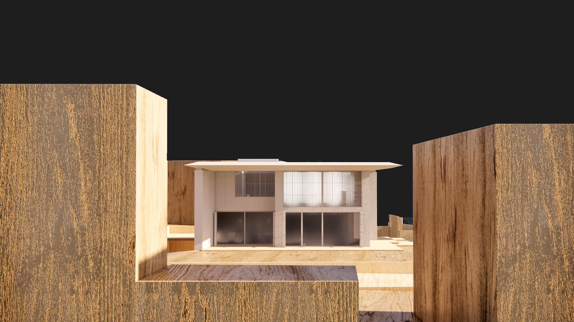 VB House – model study
